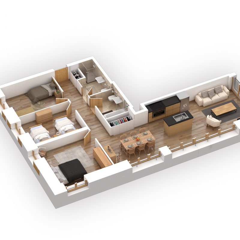 CONDOMINIUM ERMITAGE A23NEW APARTMENT AND FURNISHED IN THE  VILLAGE FITNESS, SAUNA AND CARNOTZET