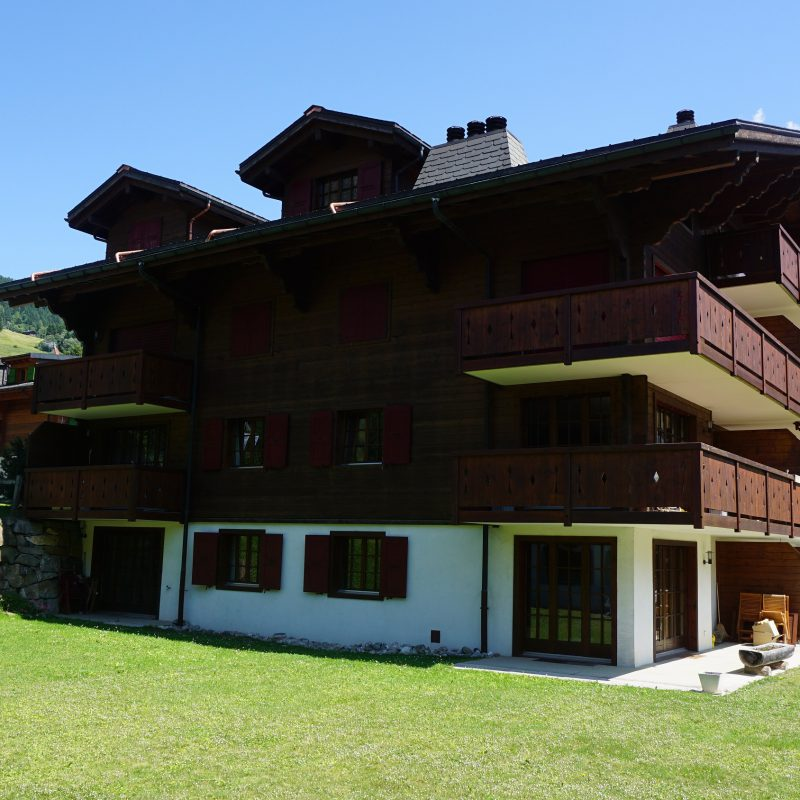 CONDOMINIUM PPE DIABLERETS-PARC CBEAUTIFUL  APARTMENT WITH TWO PARKING PLACES AND FURNISHED IN THE VILLAGE WITH LIFT